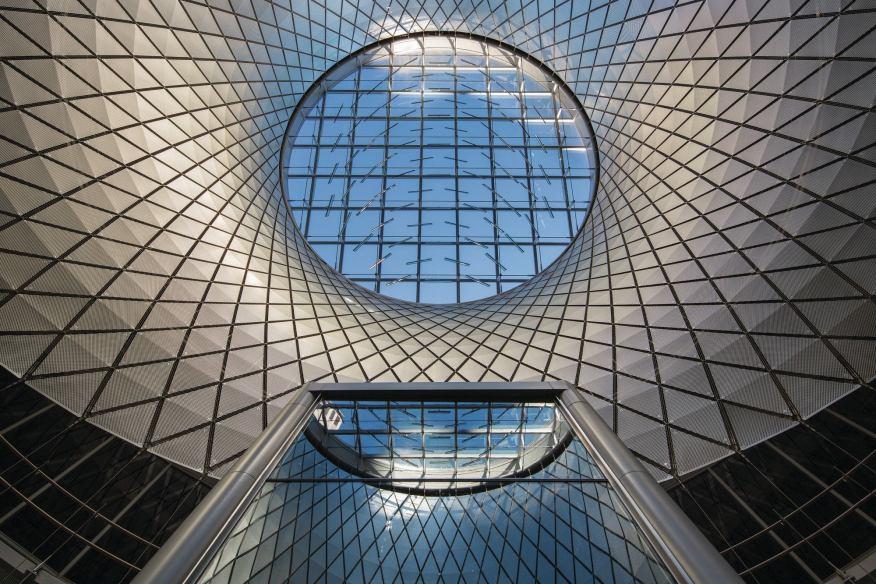 سقف کاذب شیشه ای (13)