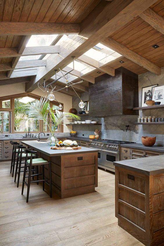 شیشه سقف آشپزخانه (2)