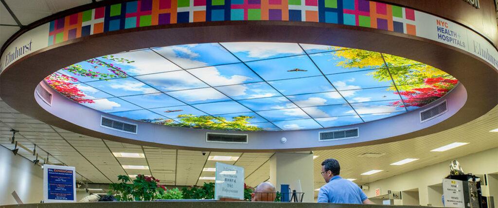 طلق شیشه ای سقف کاذب (2)