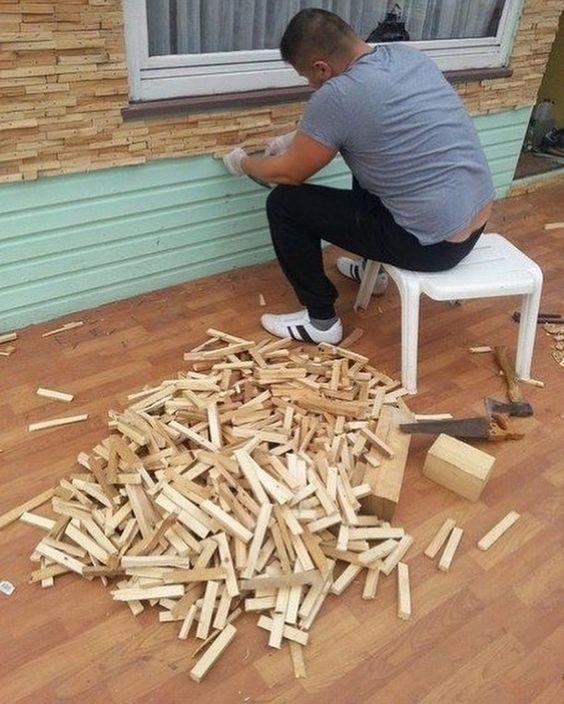 دیوارپوش چوبی (3)
